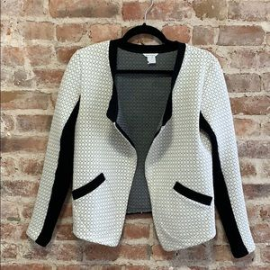 Club Monaco Quilted Cropped Blazer Style Jacket